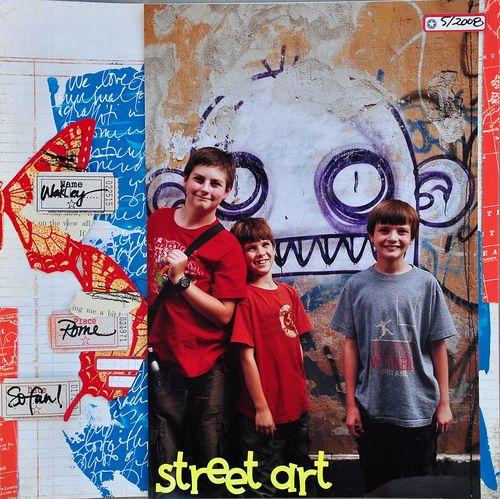 Dina street art