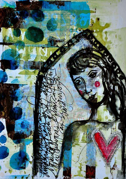 Window girl 02