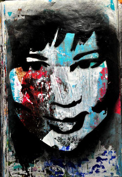 Me as a stencil