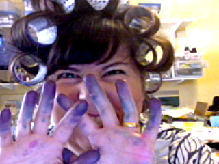 Inky curlers