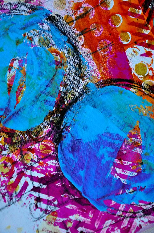 Circle canvas 03