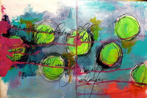 Green circles 1