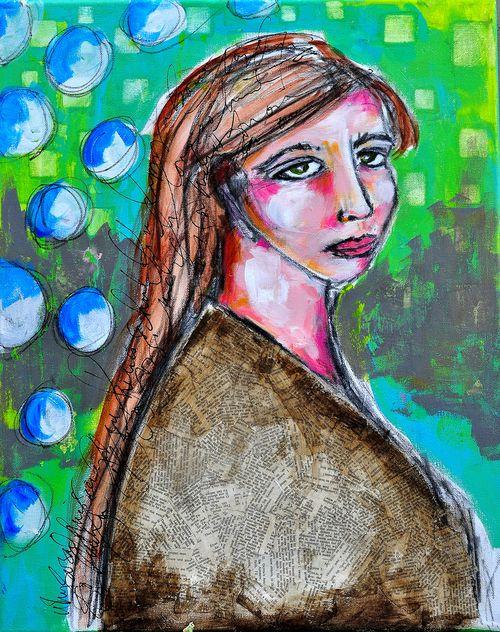 Sad girl 01