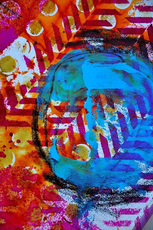 Circle canvas 02