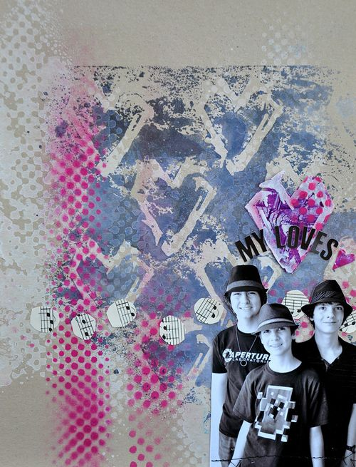 Grungy heart 01