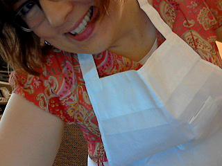 New apron 2