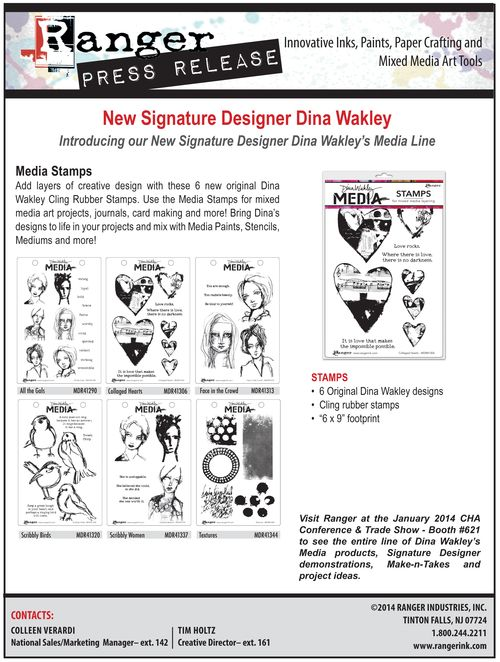 Dina Wakley PR 2014-4