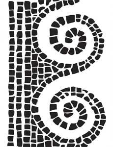 Dw mosaic swirl