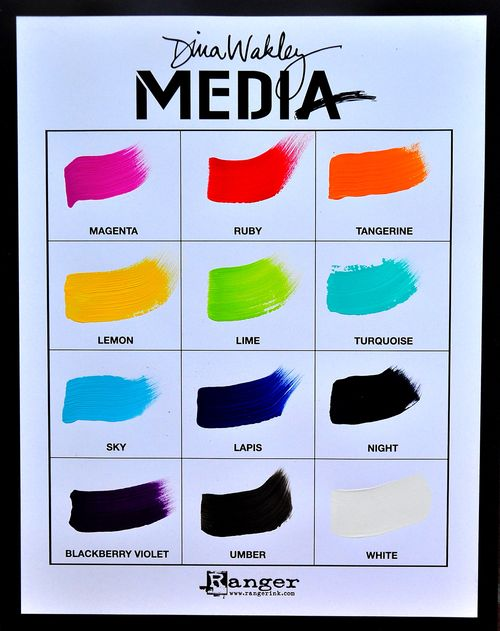 Dina wakley media line paint