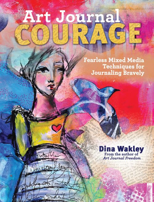 Art Journal Courage Cover 1