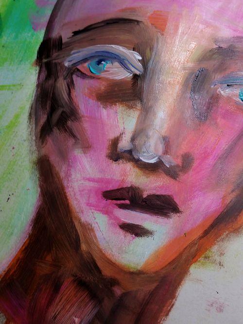 Dina wakley face
