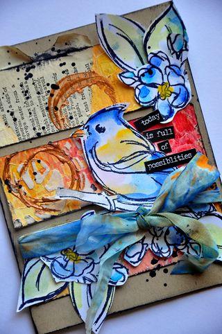 Dina wakley card