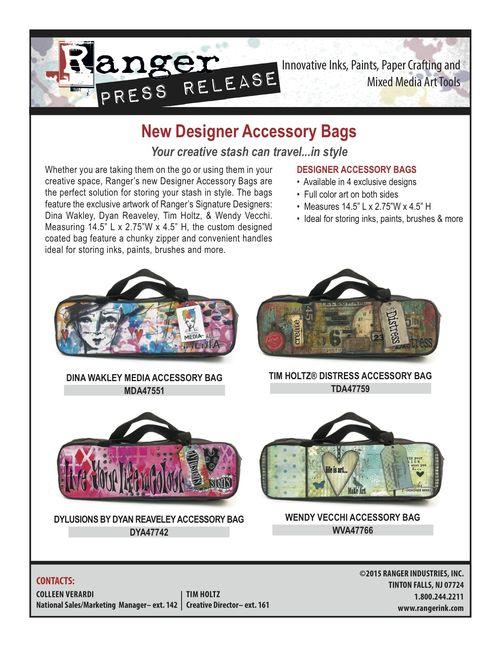 Signature Designer Accessory Bags PR