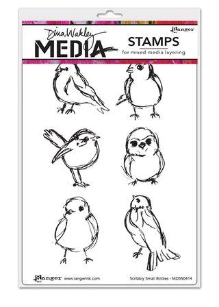 MDS50414 Scribbly Small Birdies copy