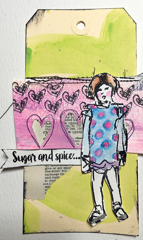 Dina scribbly girlies 02