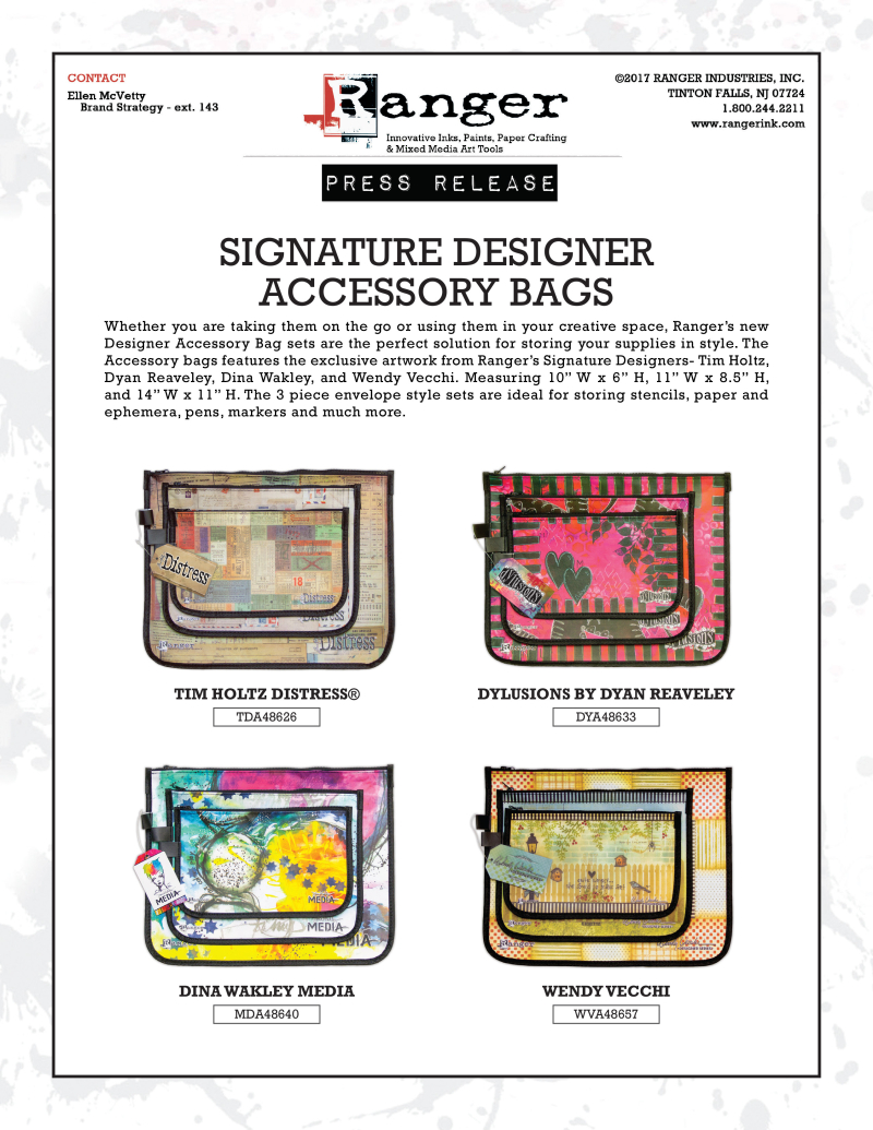 Designer Bags Press Release CHA 2017 PR