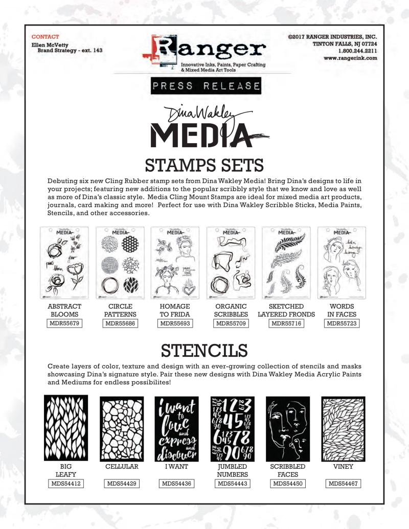Stamps stencils