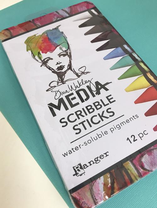 Scribble sticks